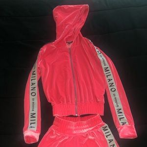Milano di Rouge shorts set